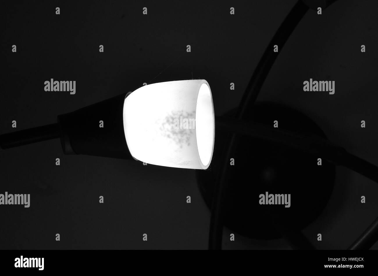 Dark room with light bulb - Light Bulb Into A Dark Room