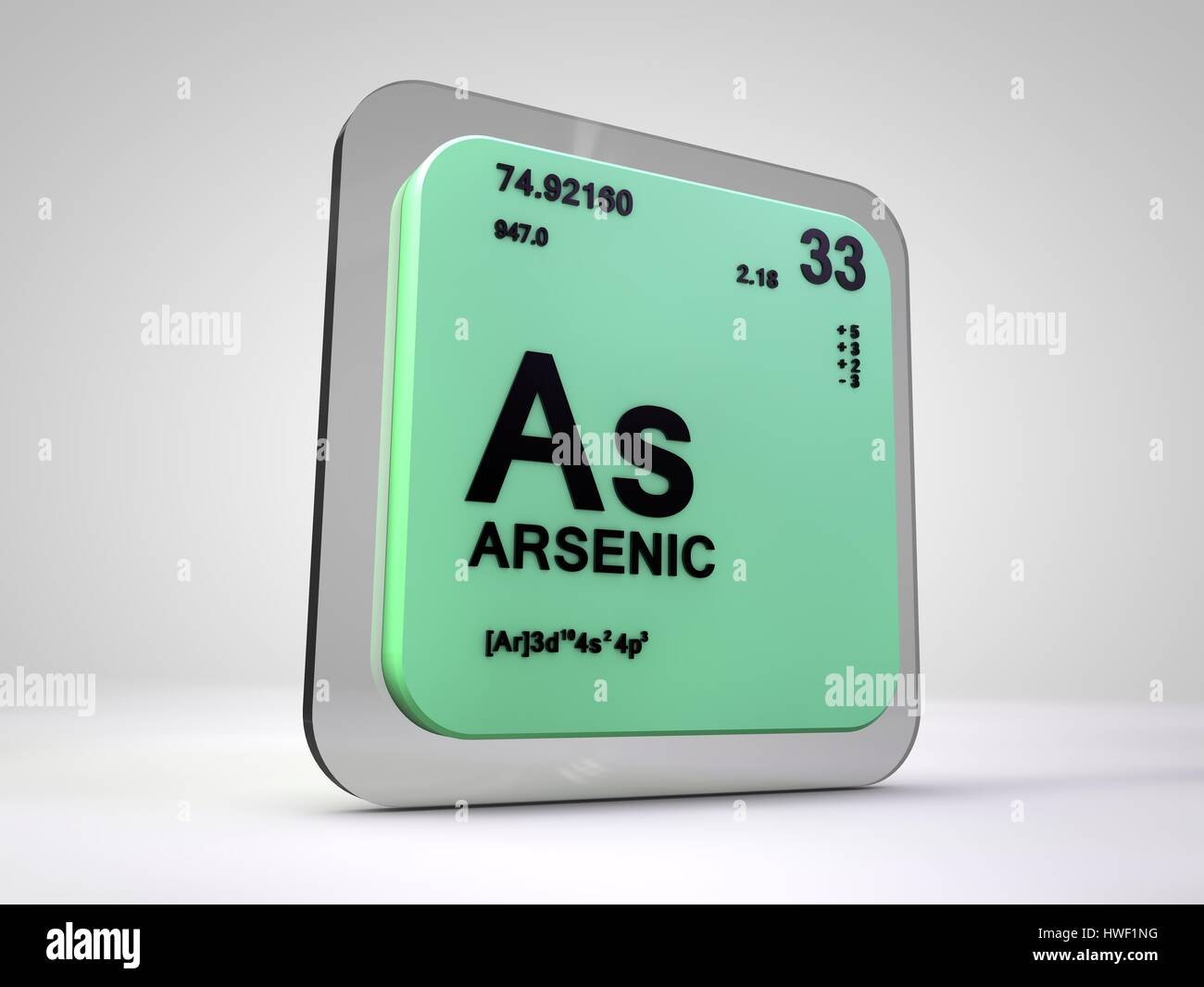 Arsenic as chemical element periodic table 3d render stock arsenic as chemical element periodic table 3d render biocorpaavc Image collections