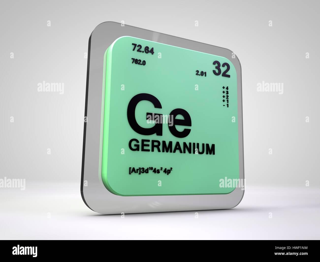 Germanium ge chemical element periodic table 3d render stock germanium ge chemical element periodic table 3d render gamestrikefo Choice Image