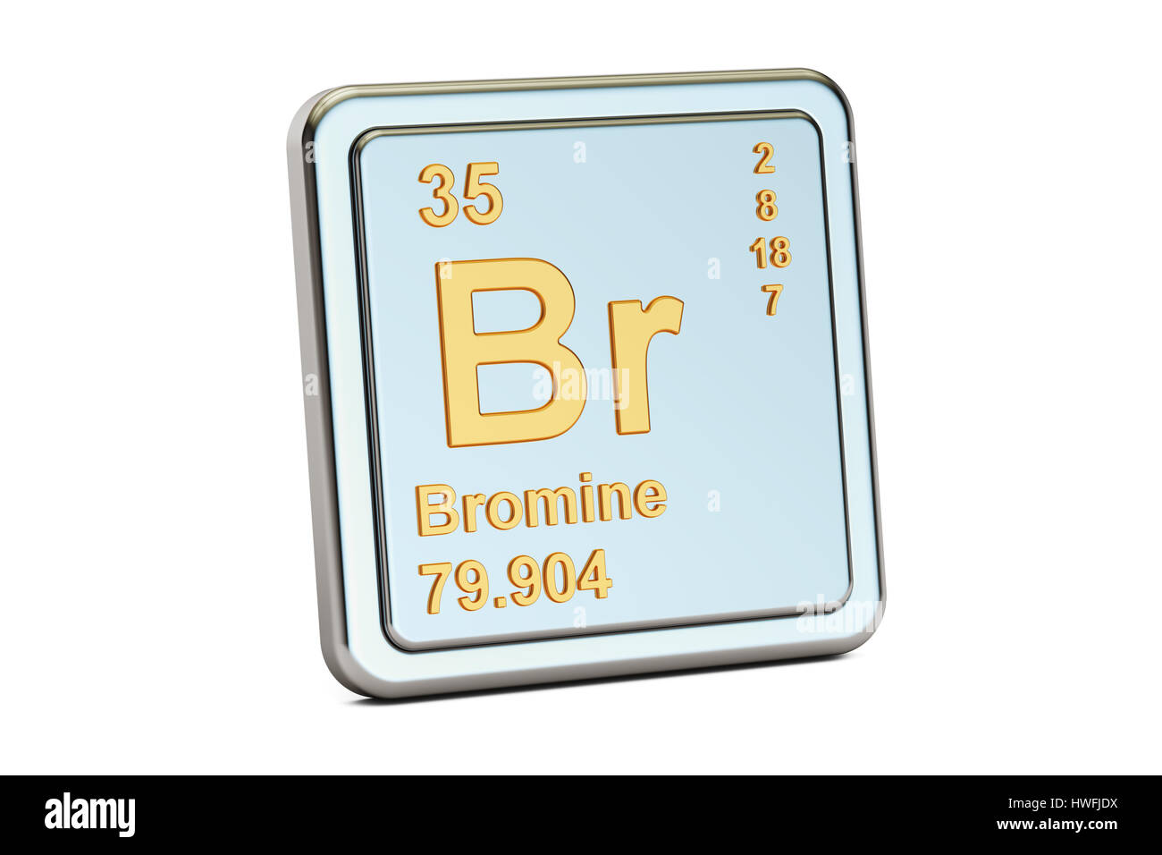 Bromine br chemical element sign 3d rendering isolated on white bromine br chemical element sign 3d rendering isolated on white background biocorpaavc