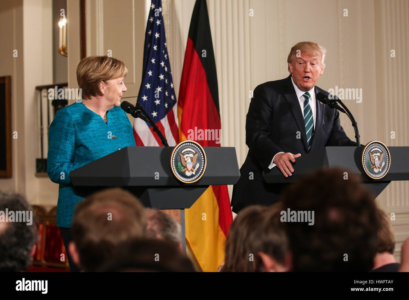 Angela Merkel visit German Chancellor Angela Merkel visits Washington, D.C. on Friday, March  17, 2017 and meets with U.S. President Donald Trump at the White House.