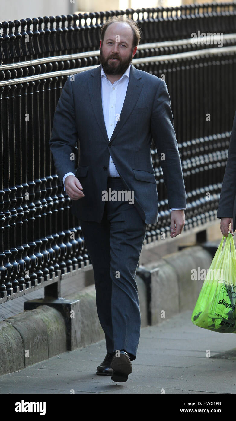 Nick Timothy Is A Political Adviser To The Prime Minister Seen Attending  The Weekly Cabinet Meeting In Downing Street. Credit: WFPA/Alamy Live News