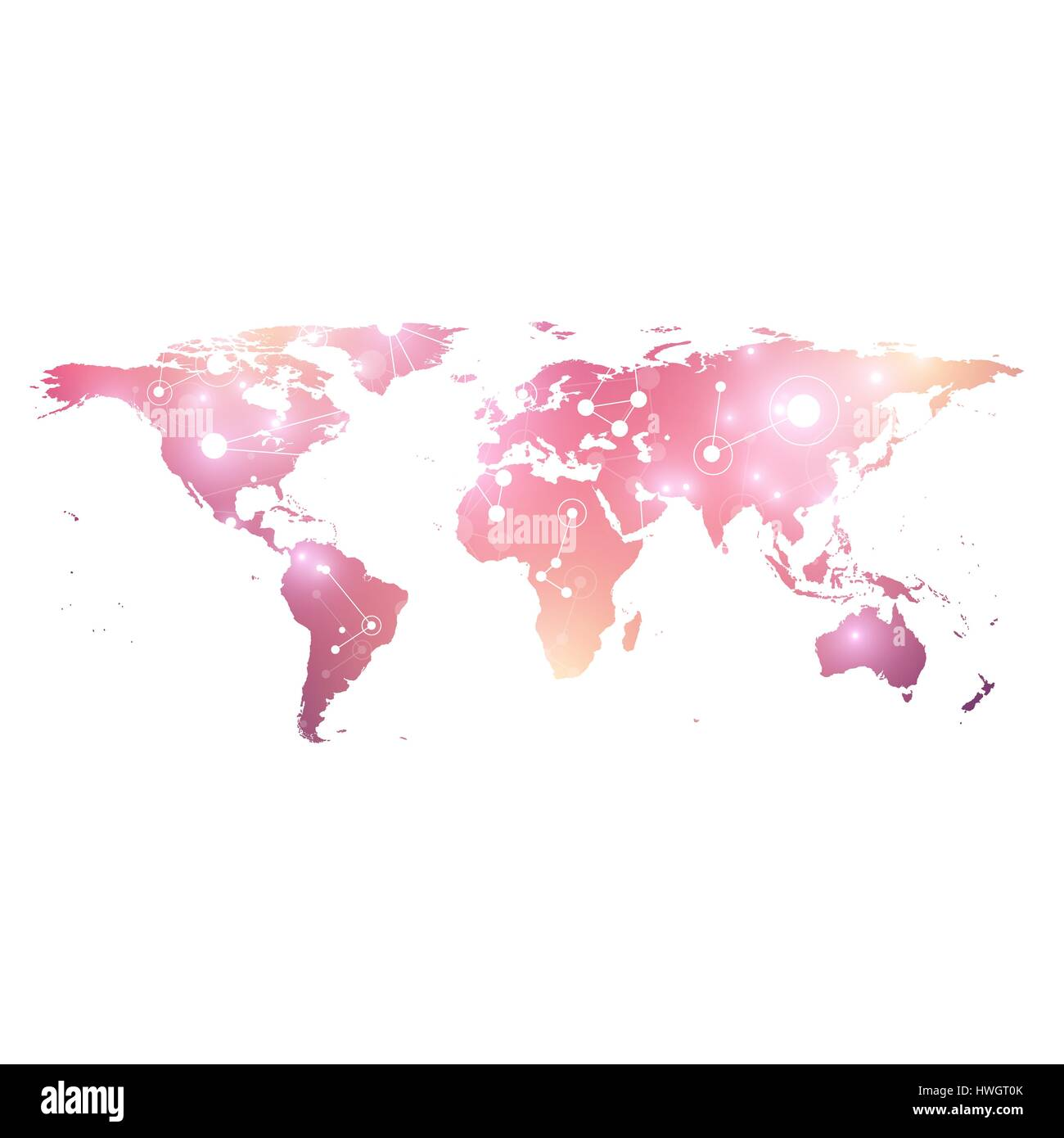 World map geometric graphic background communication big data world map geometric graphic background communication big data complex with compounds perspective graphic backdrop digital data visualization gumiabroncs Choice Image