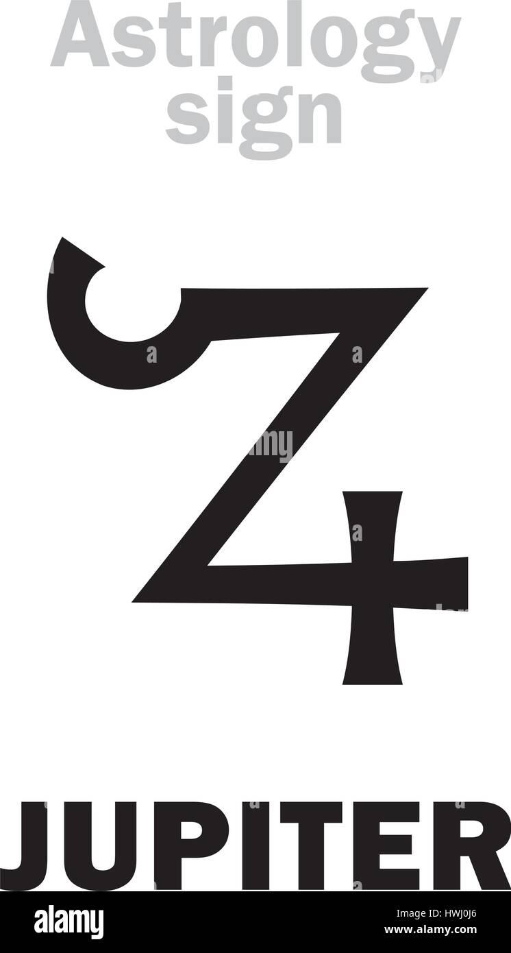 Astrology alphabet jupiter zeus classic major planet stock astrology alphabet jupiter zeus classic major planet hieroglyphics character sign ancient greek symbol buycottarizona Images