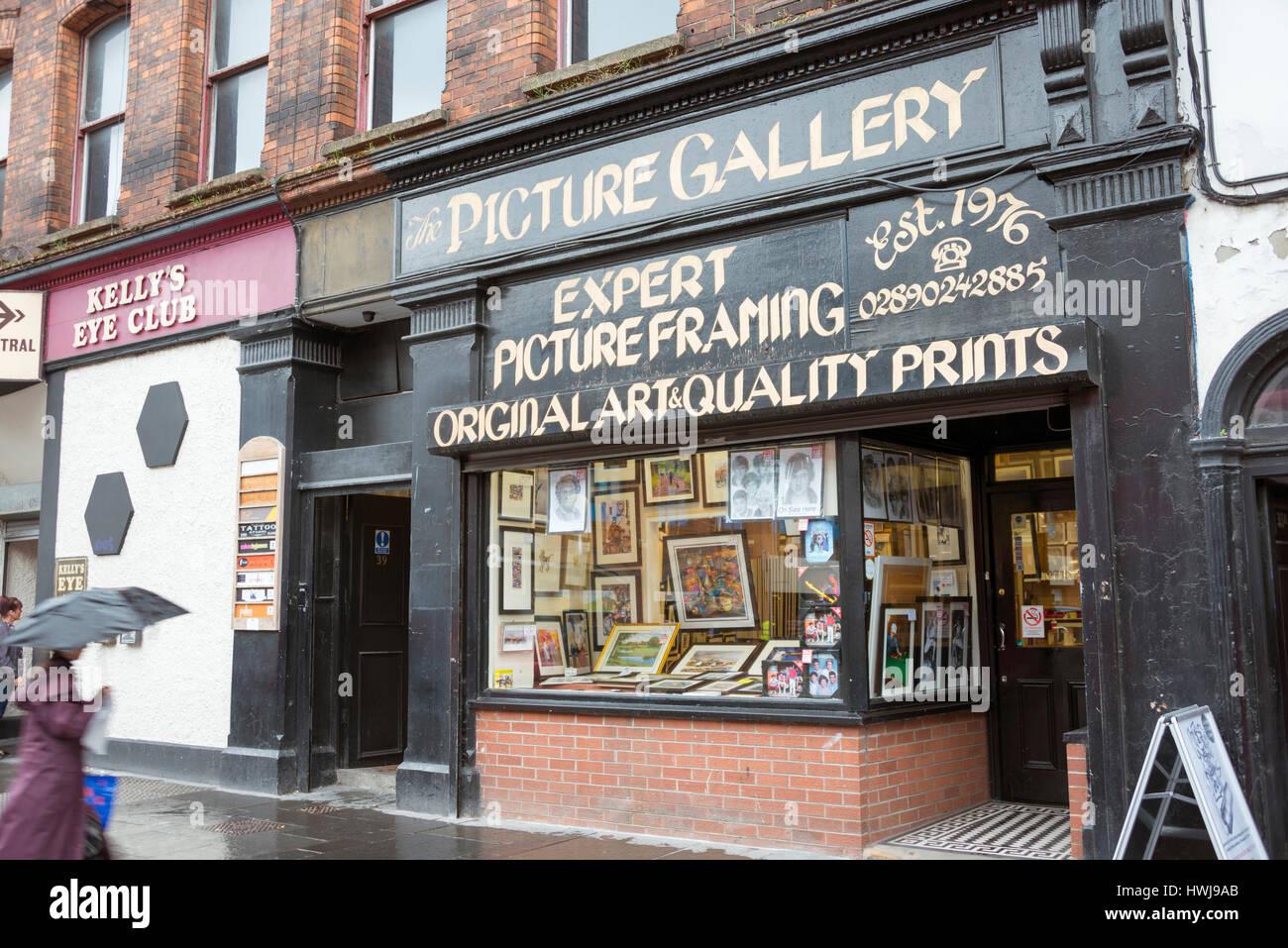 Picture gallery belfast northern ireland great britain stock picture gallery belfast northern ireland great britain jeuxipadfo Choice Image