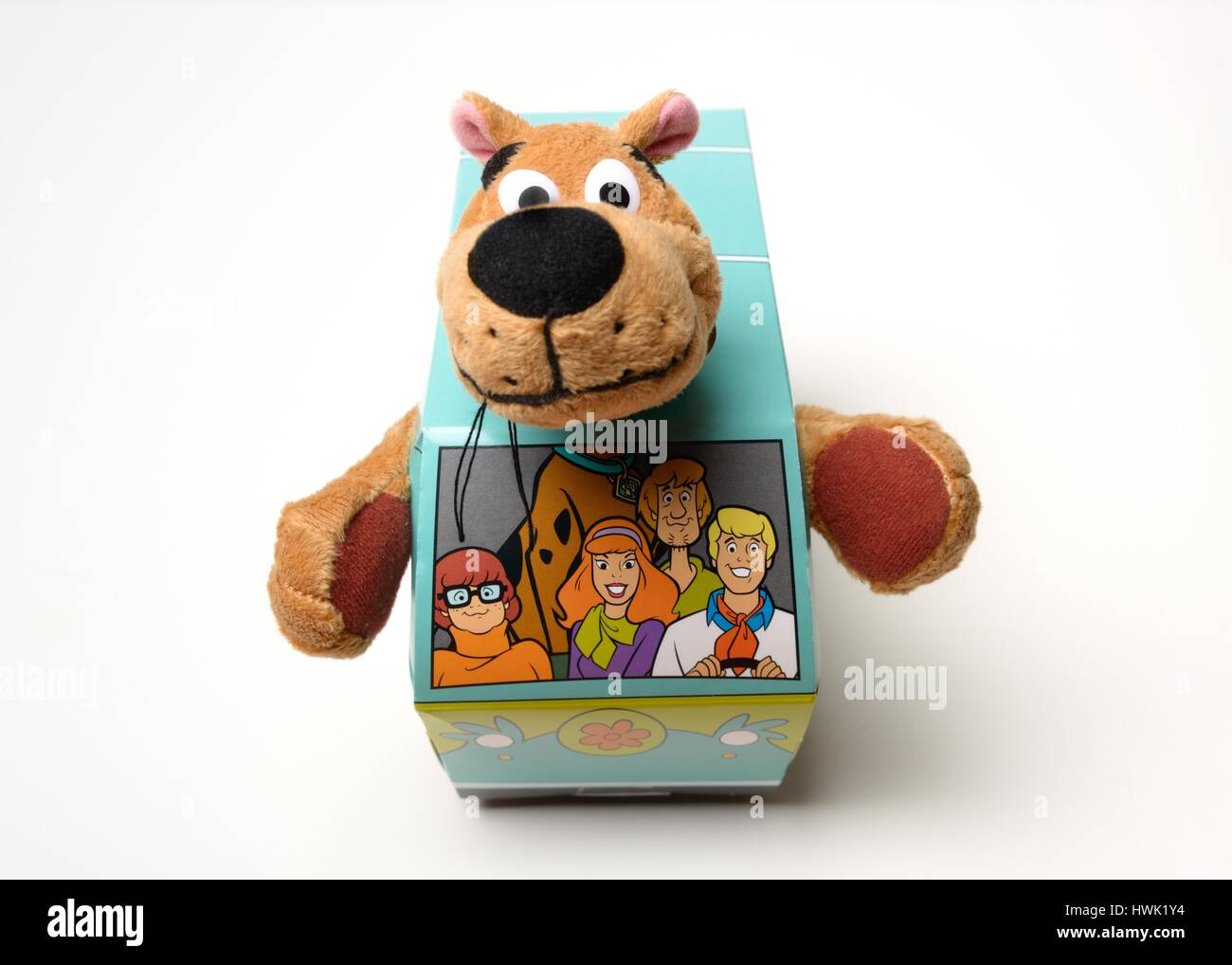 Scooby Doo easter egg box with soft toy included & Scooby Doo easter egg box with soft toy included Stock Photo ... Aboutintivar.Com