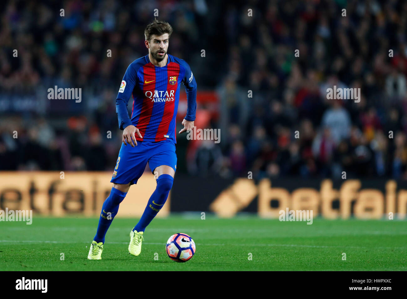 Barcelona Spain Credit D 19th Mar 2017 Gerard Pique