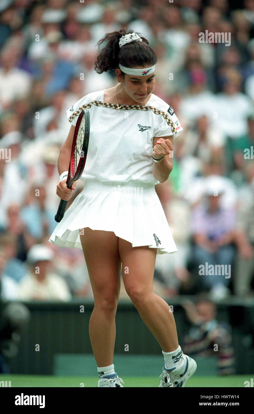 ARANTXA SANCHEZ VICARIO WIMBLEDON 05 July 1995 Stock