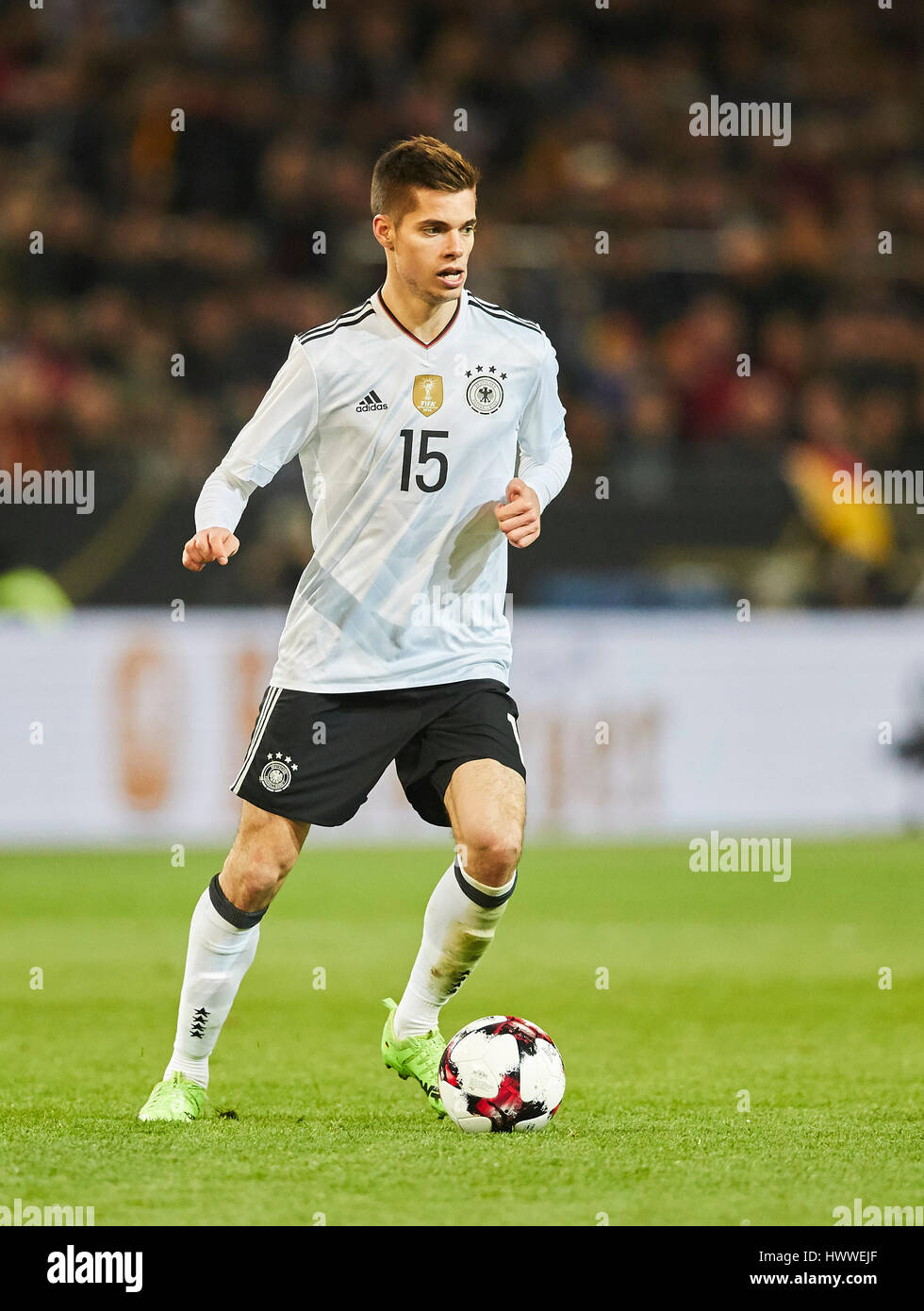 Dortmund Germany 22nd Mar 2017 Julian WEIGL DFB 15 drives the
