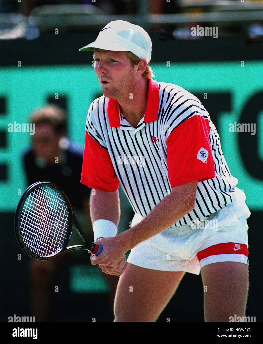 JIM COURIER USA 23 March 1993 Stock Royalty Free Image