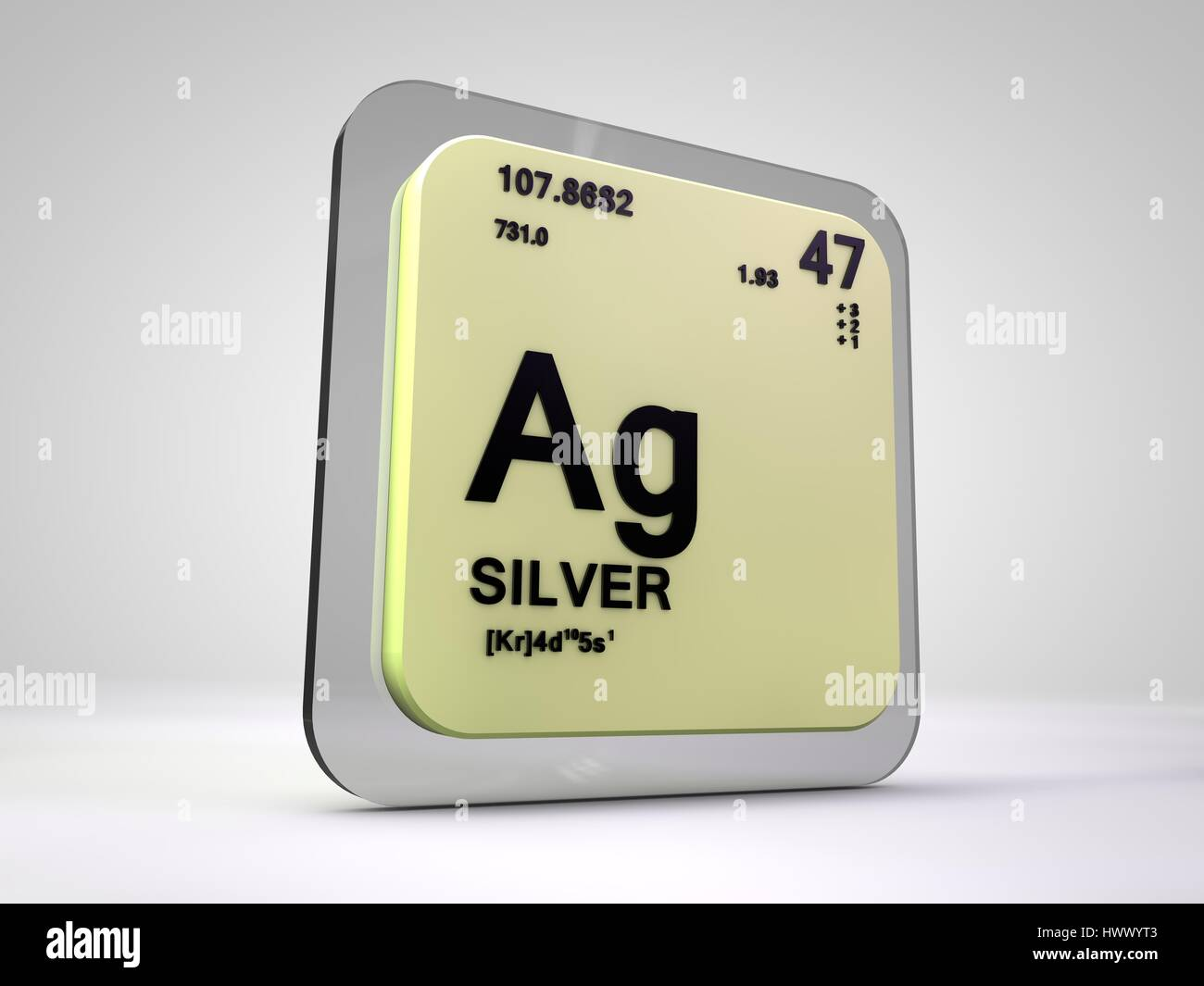 Silver ag chemical element periodic table 3d render stock silver ag chemical element periodic table 3d render urtaz Gallery
