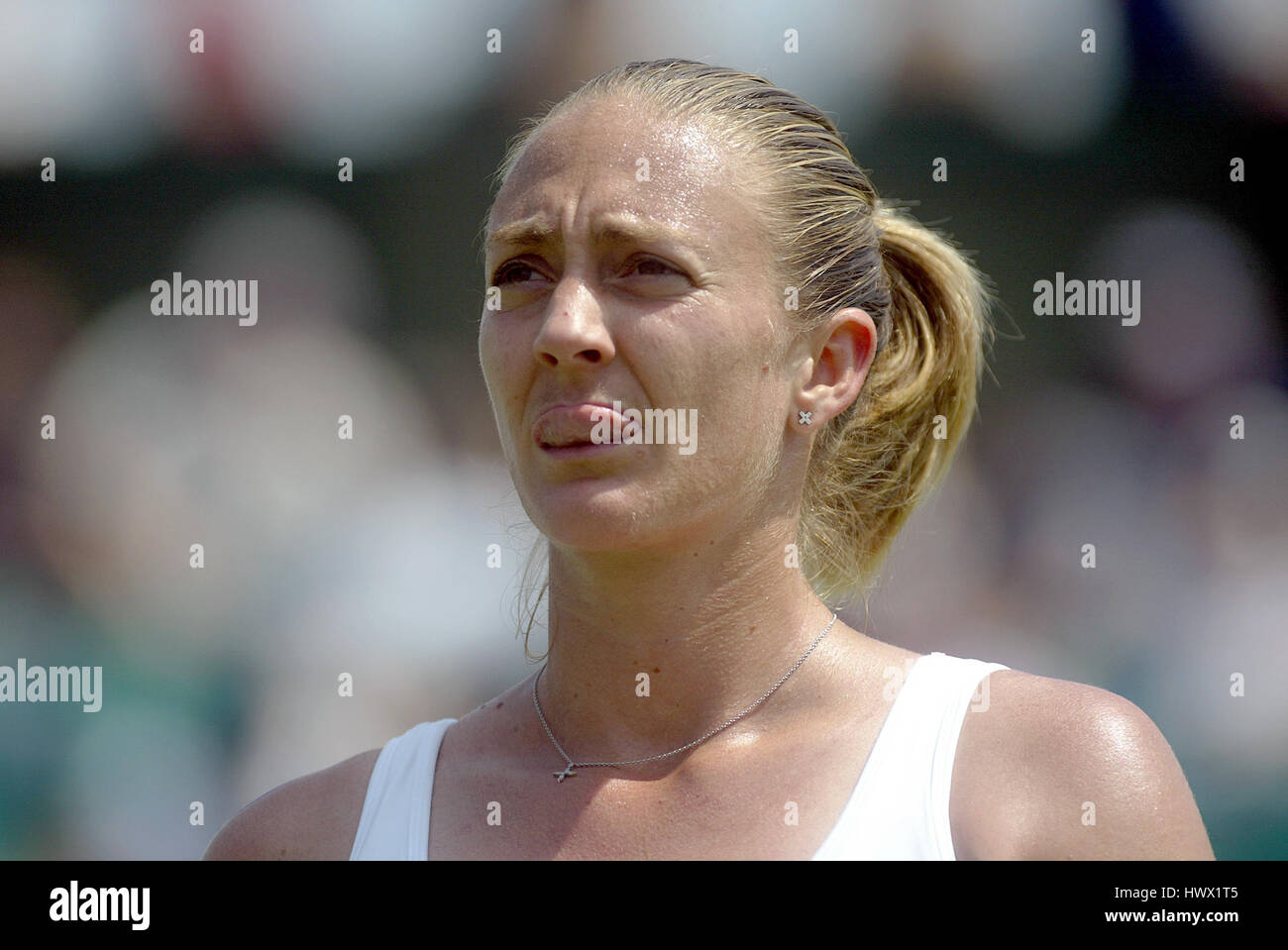 MARY PIERCE FRANCE WIMBLEDON LONDON ENGLAND 26 June 2003 Stock