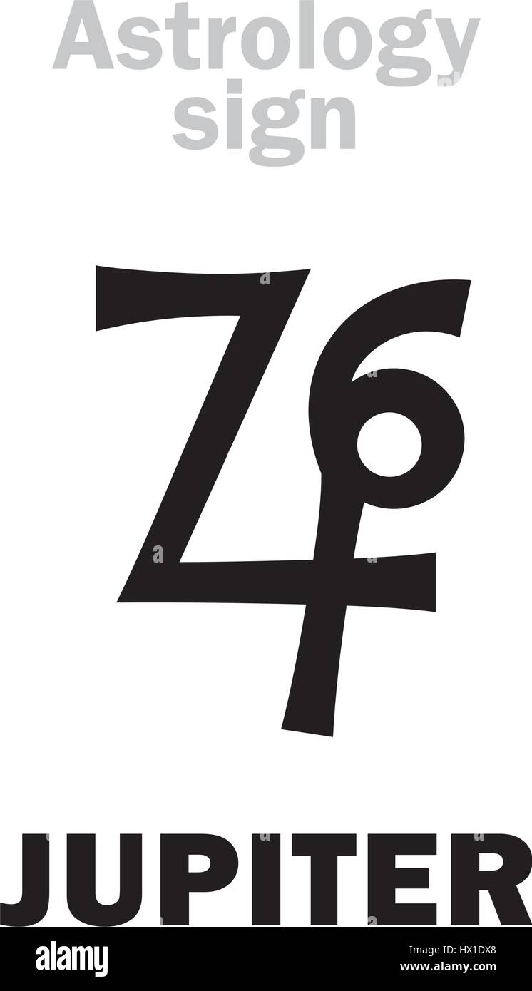 Astrology alphabet jupiter zeus classic major planet stock astrology alphabet jupiter zeus classic major planet hieroglyphics character sign ancient greek symbol biocorpaavc