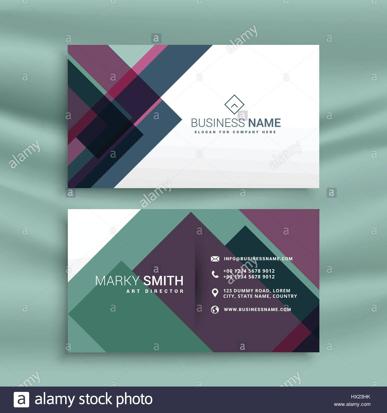 Business card presentation template with abstract colorful shapes business card presentation template with abstract colorful shapes magicingreecefo Image collections