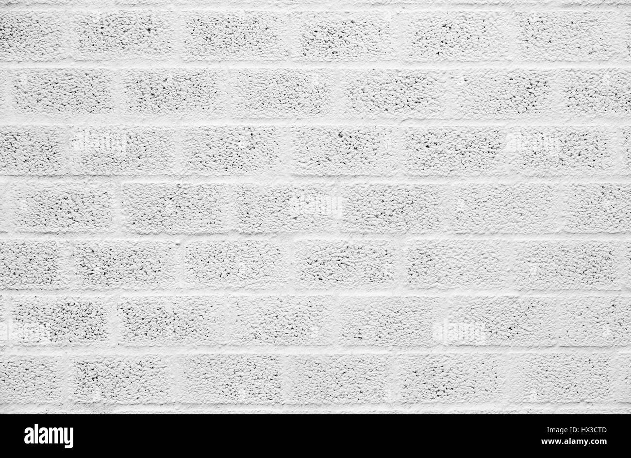 Painted cinder block wall texture - Stock Photo White Painted Concrete Block Wall