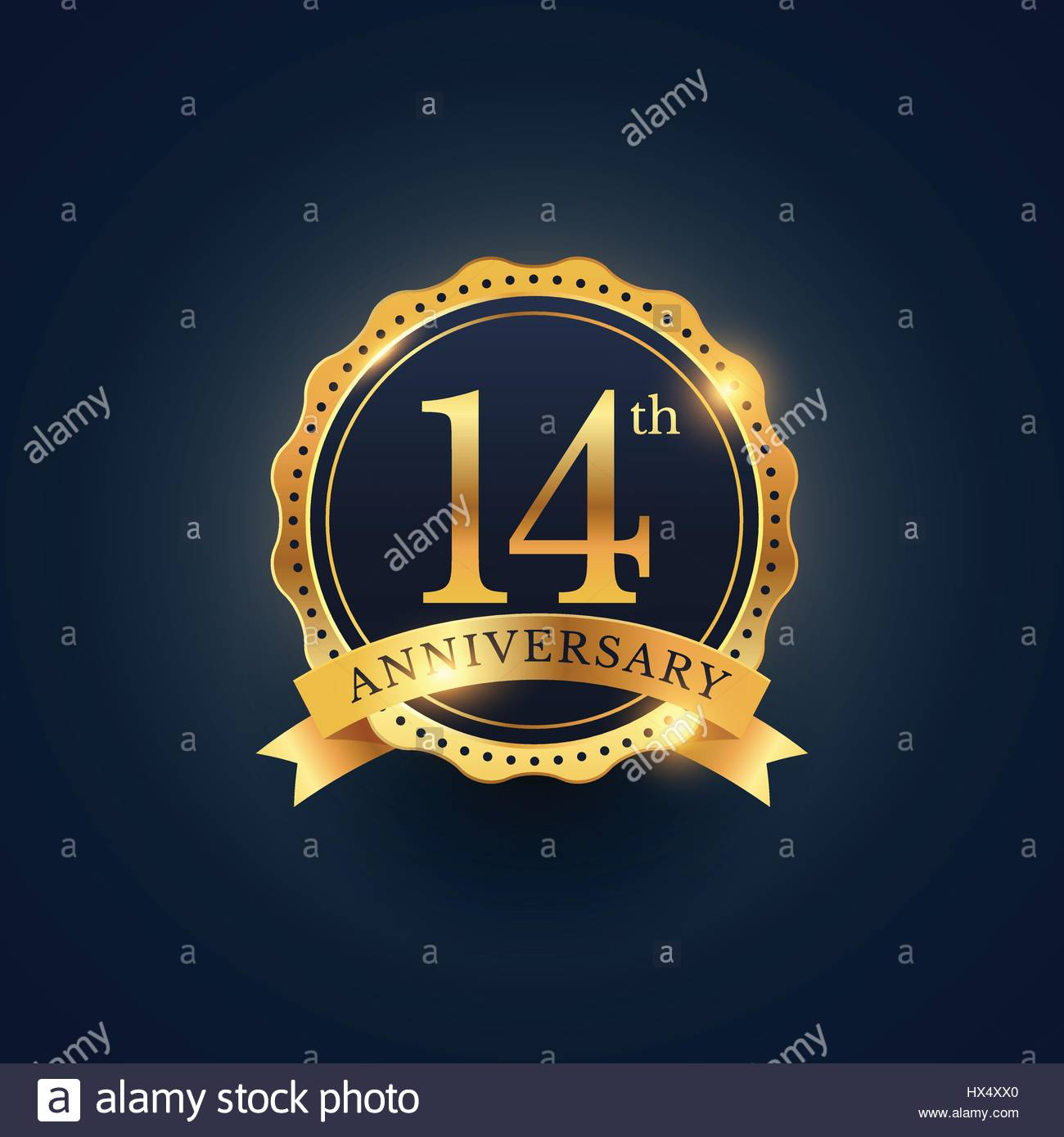 14th anniversary symbol choice image symbol and sign ideas 14th anniversary symbol images symbol and sign ideas 14th anniversary celebration badge label in golden color biocorpaavc
