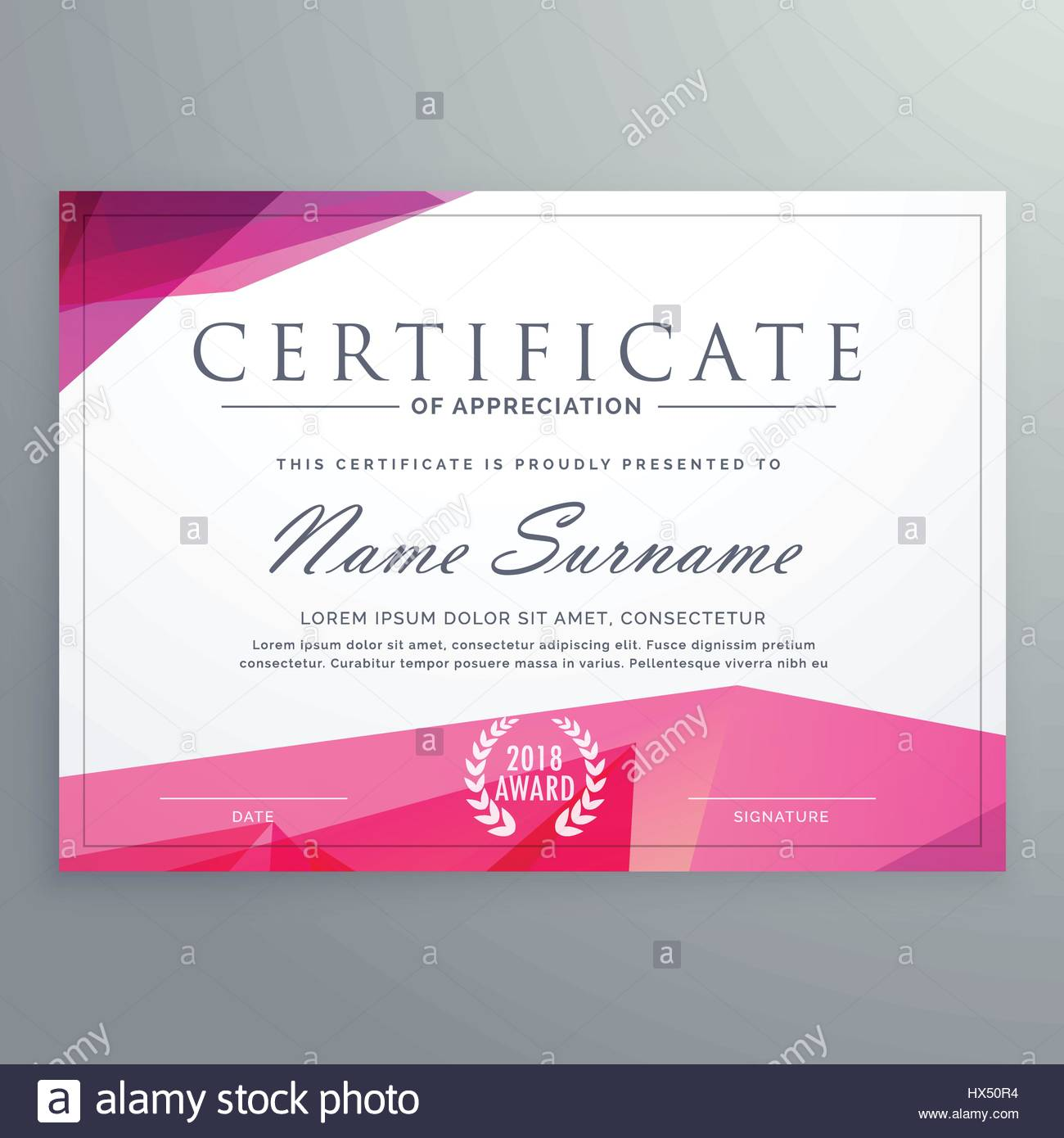 Modern certificate of appreciation creative template stock vector modern certificate of appreciation creative template yelopaper Image collections