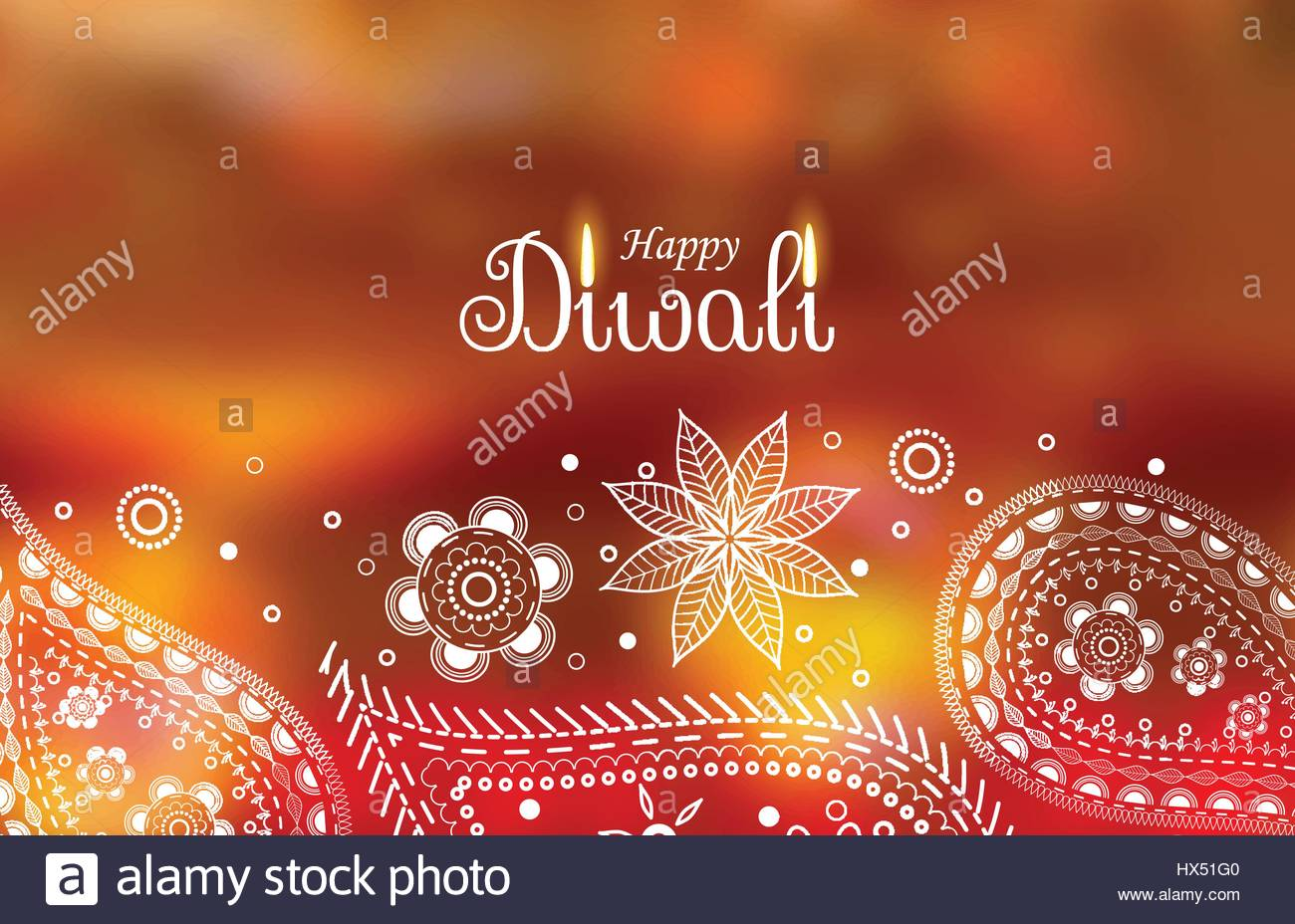 Beautiful ethnic happy diwali greeting stock photos beautiful diwali greeting wallpaper with paisley decoration stock image kristyandbryce Gallery