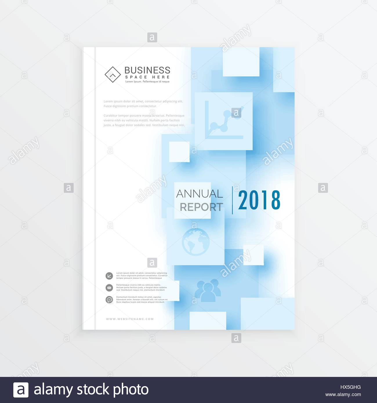 Brochure Template Layout Annual Report Cover Design Magazine - 3d brochure template