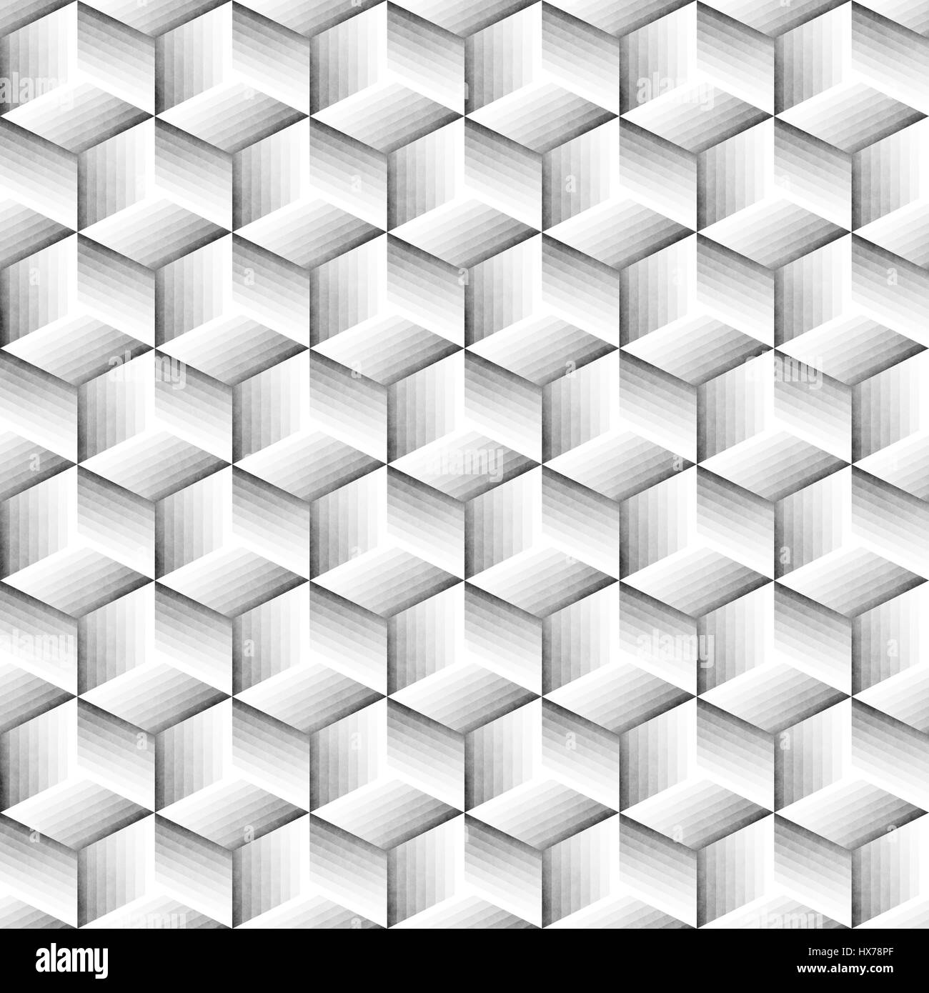 Seamless Monochrome Pattern. Grungy Geometric Shapes Tiling ...