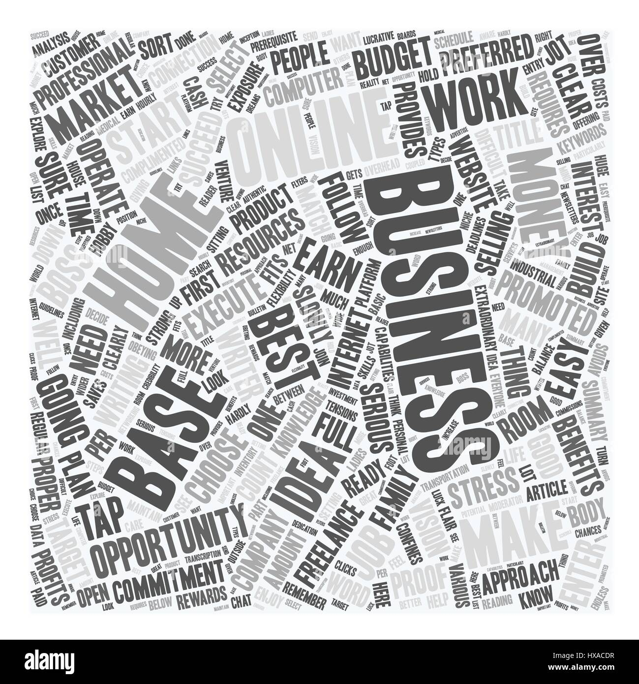 Easy To Start Home Based Business text background wordcloud ...