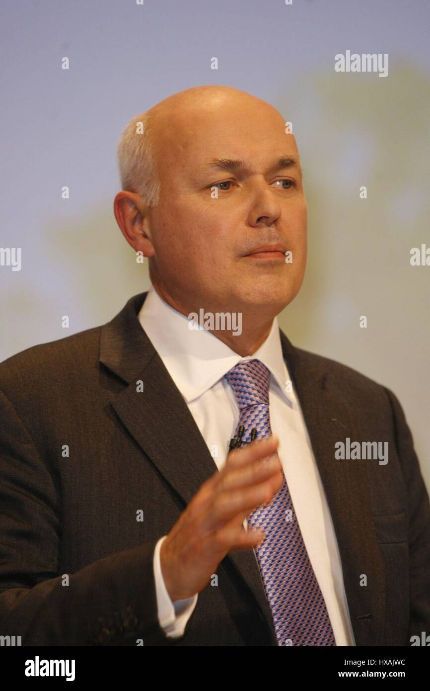 IAIN DUNCAN SMITH MP CHAIRMAN SOCIAL JUSTICE POLICY 02 October ...