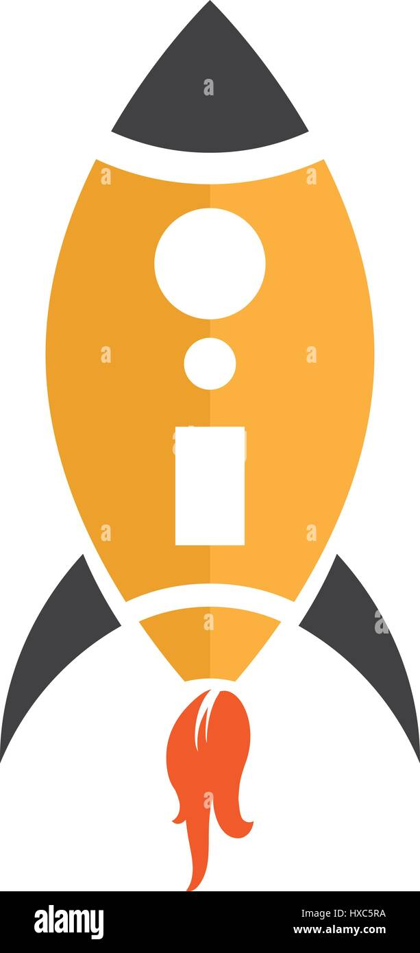 rocket ship stock vector images alamy