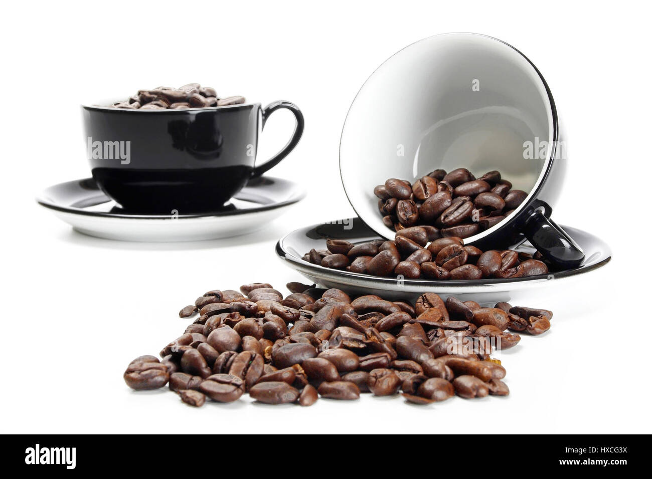 Cup of coffee - cup with Coffee - espresso, Tasse Kaffee - Cup with ...