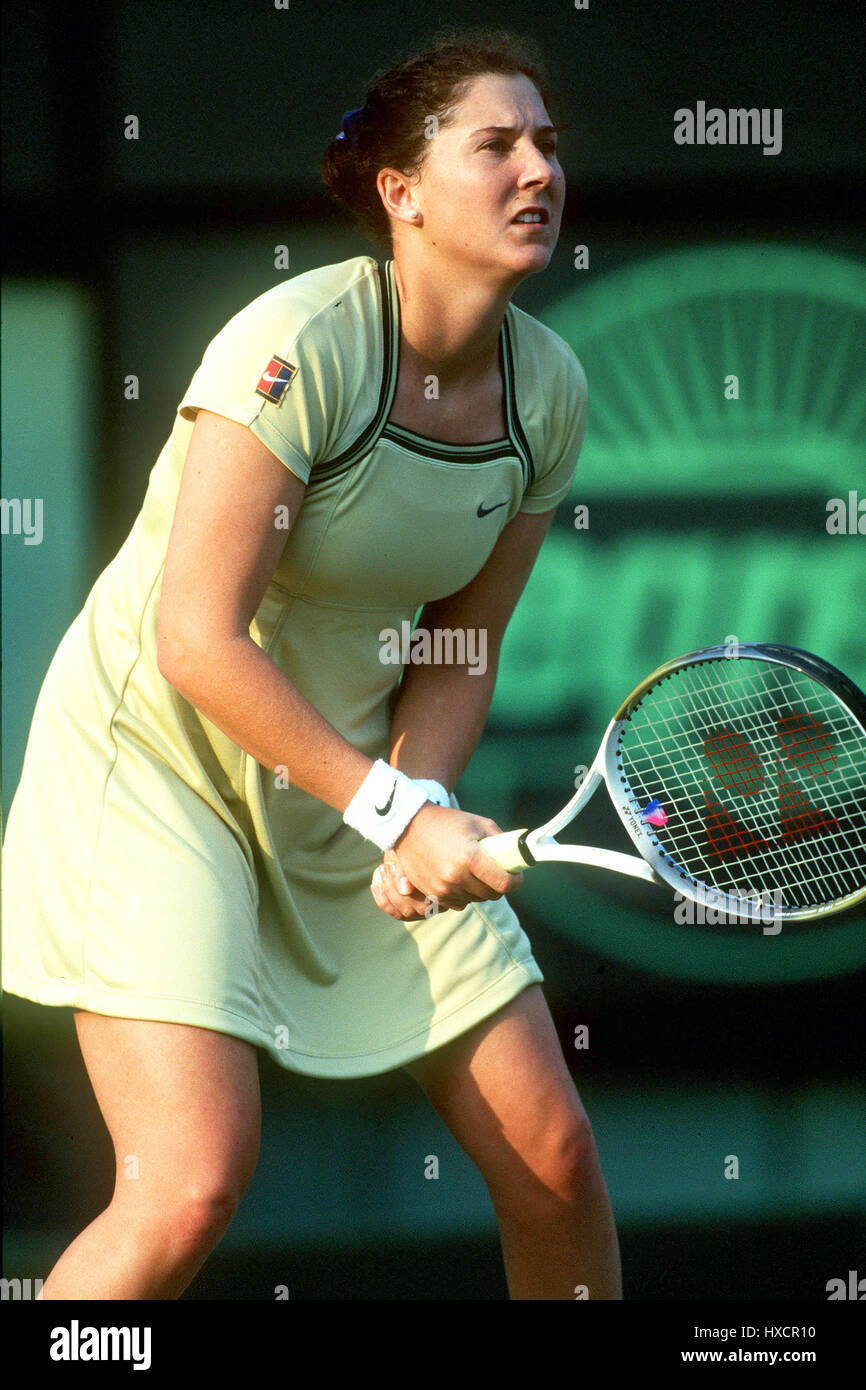 MONICA SELES YUGOSLAVIA 16 April 1998 Stock Royalty Free