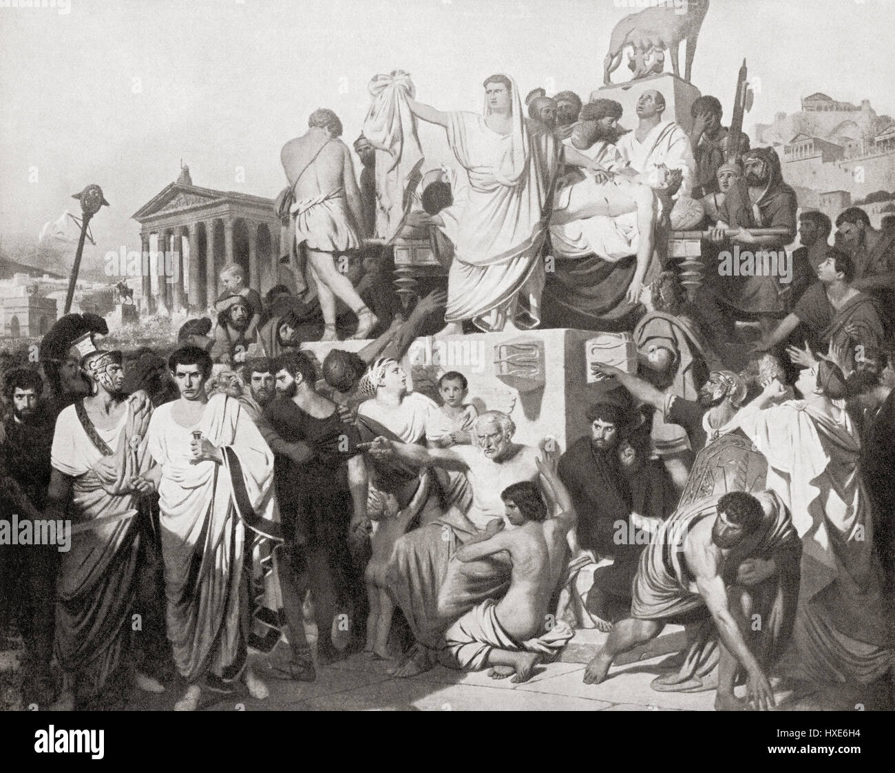 analysis marc antony s funeral oration during julius caesar Literature quiz / marc antony's funeral oration antony, death, julius caesar, marc antony you need to verify the email address you used during.