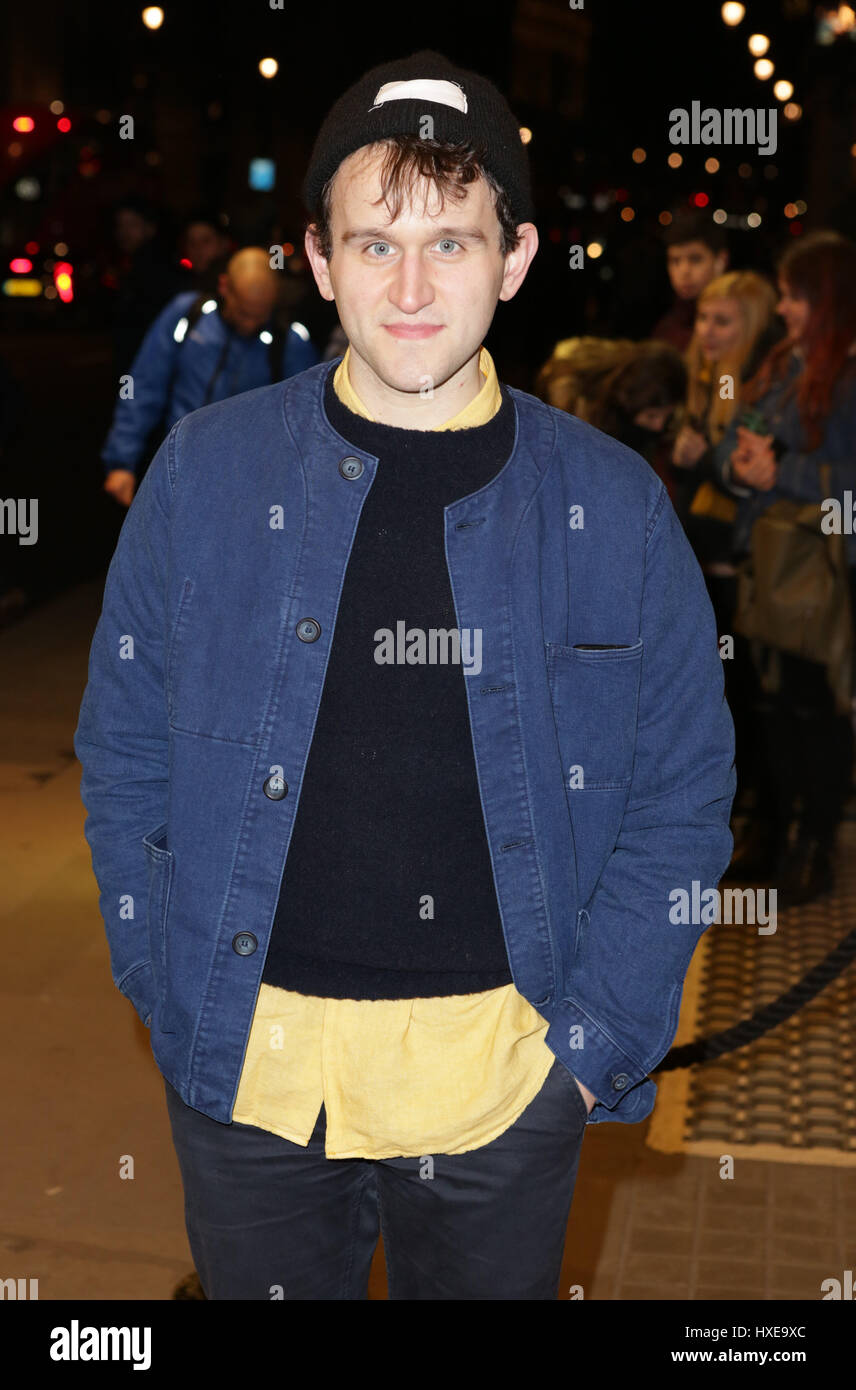 Guests attend Speech and Debate press night Featuring ...