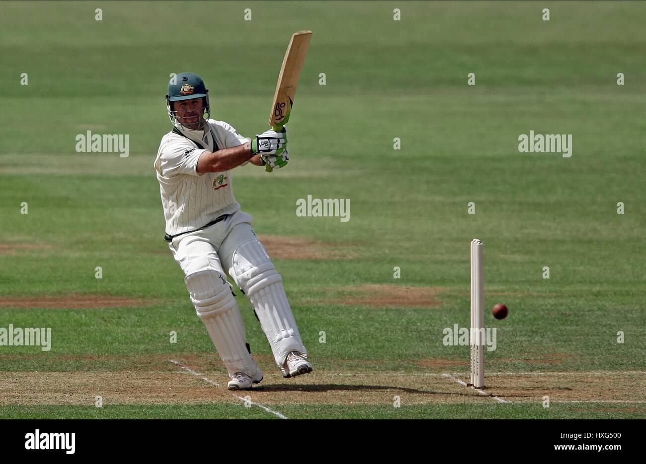 RICKY PONTING AUSTRALIA AUSTRALIA COUNTY GROUND DERBY ENGLAND 08 ...