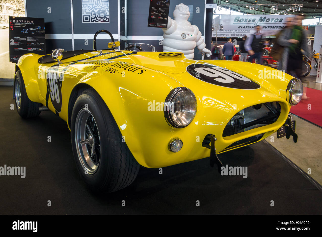 STUTTGART, GERMANY - MARCH 02, 2017: Sports car Shelby Cobra 289 ...