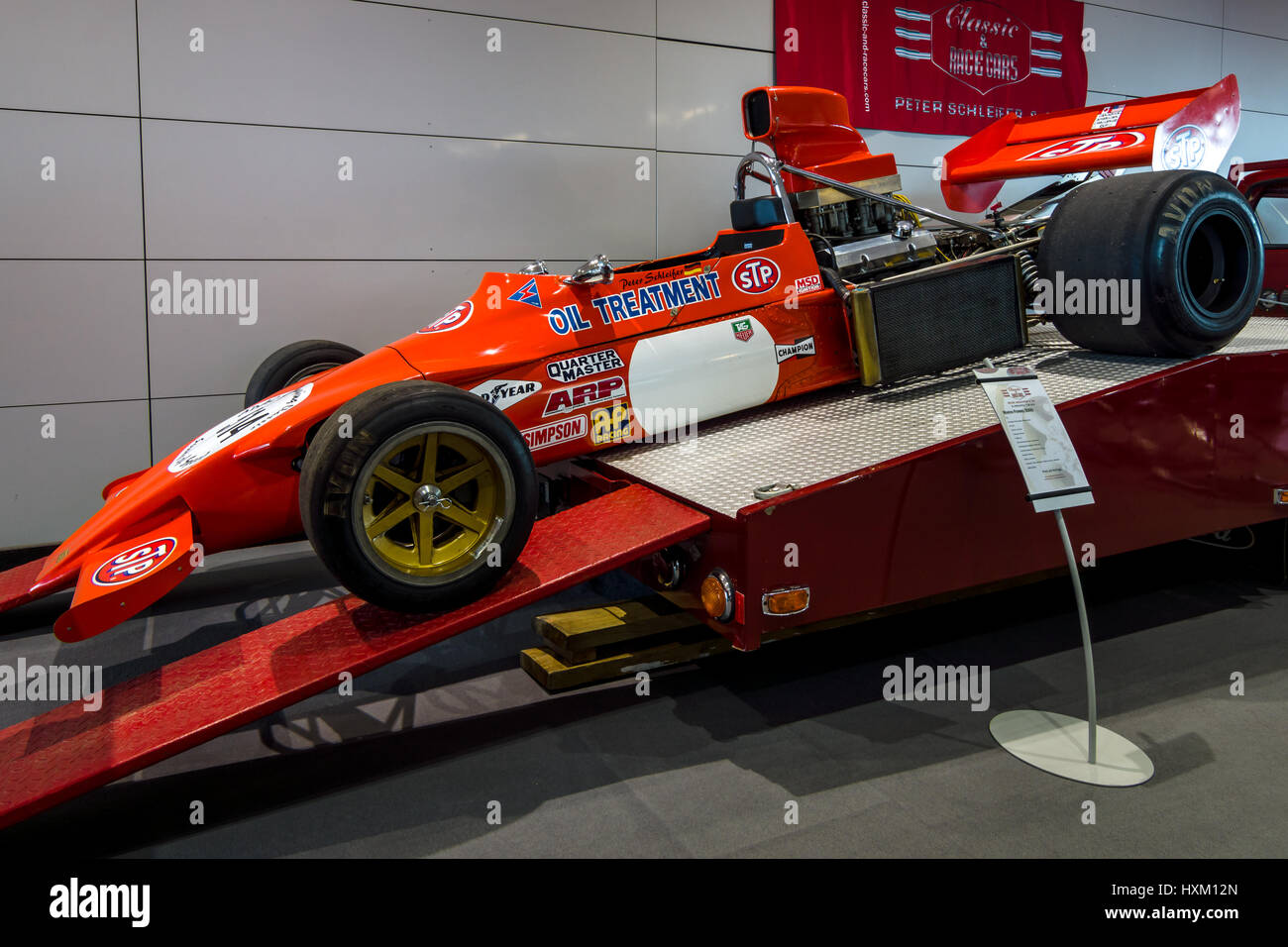 stuttgart germany march 02 2017 racing car march 73a f5000 stock photo royalty free image. Black Bedroom Furniture Sets. Home Design Ideas