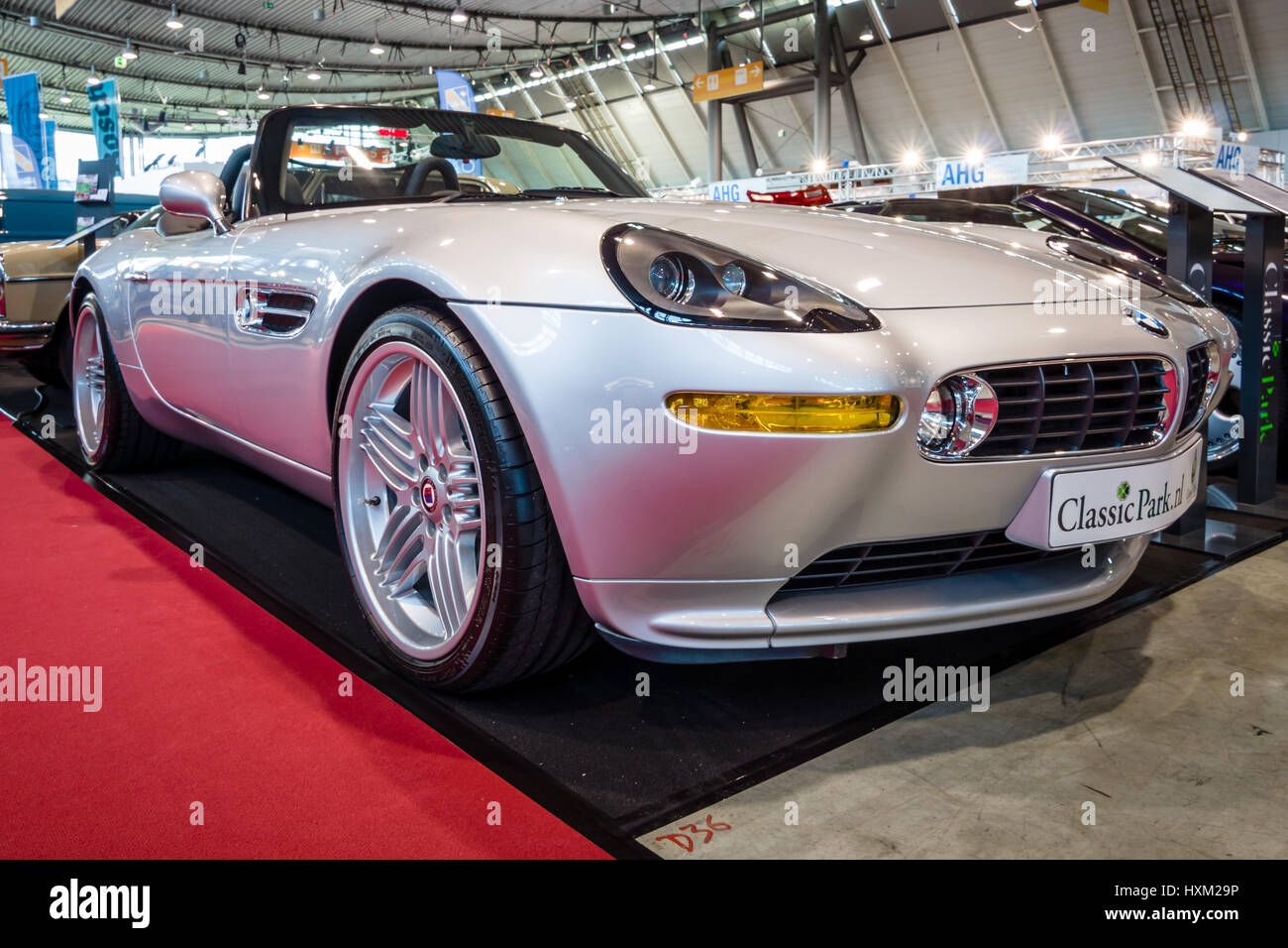 stuttgart germany march 02 2017 sports car bmw z8 alpina v8 stock photo royalty free image. Black Bedroom Furniture Sets. Home Design Ideas