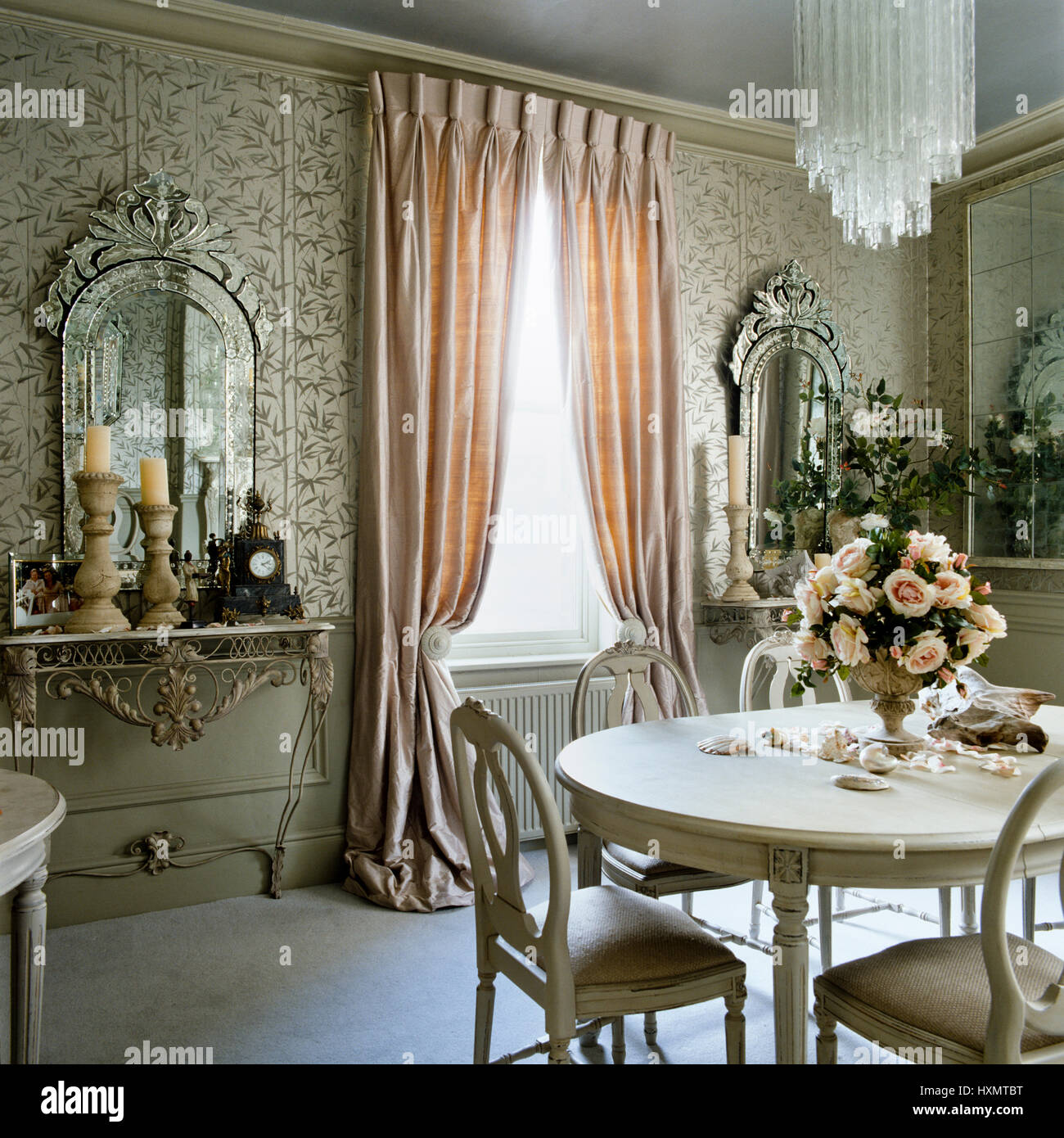Regency style dining room stock photo royalty free image for Regency dining room