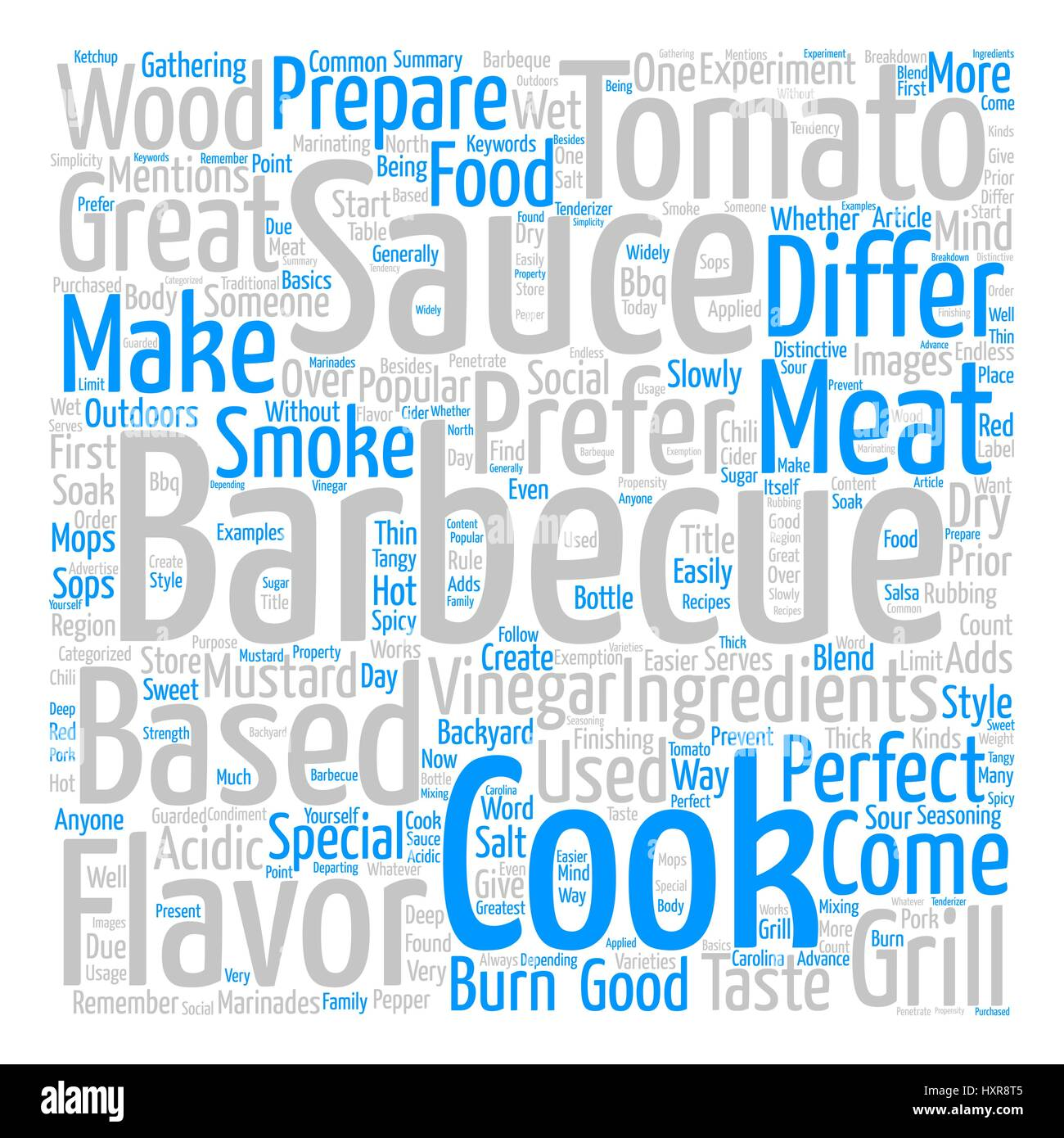 barbeque word