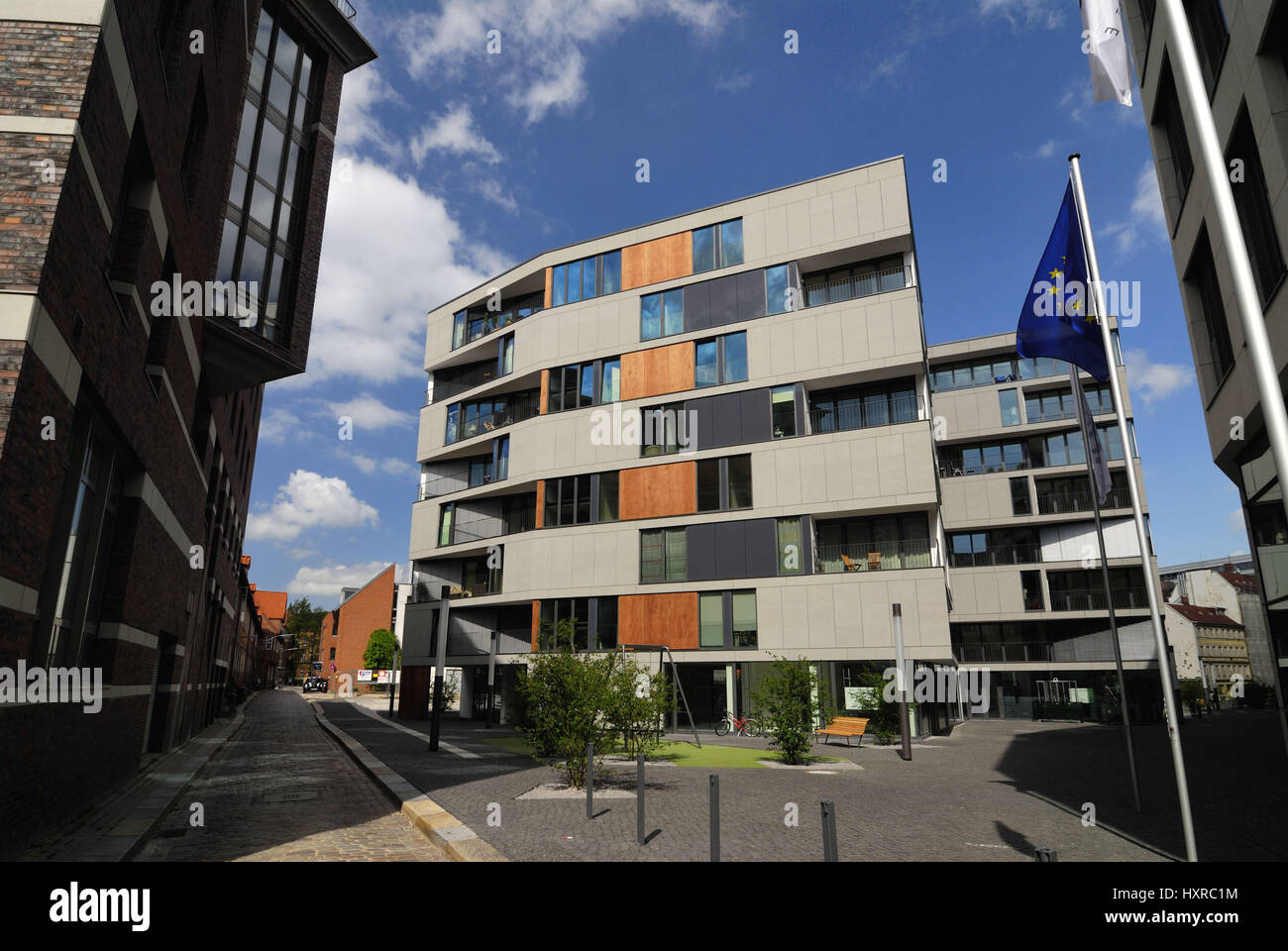 Moderne Wohnhäuser modern dwelling houses in the brahms s accommodation in hamburg