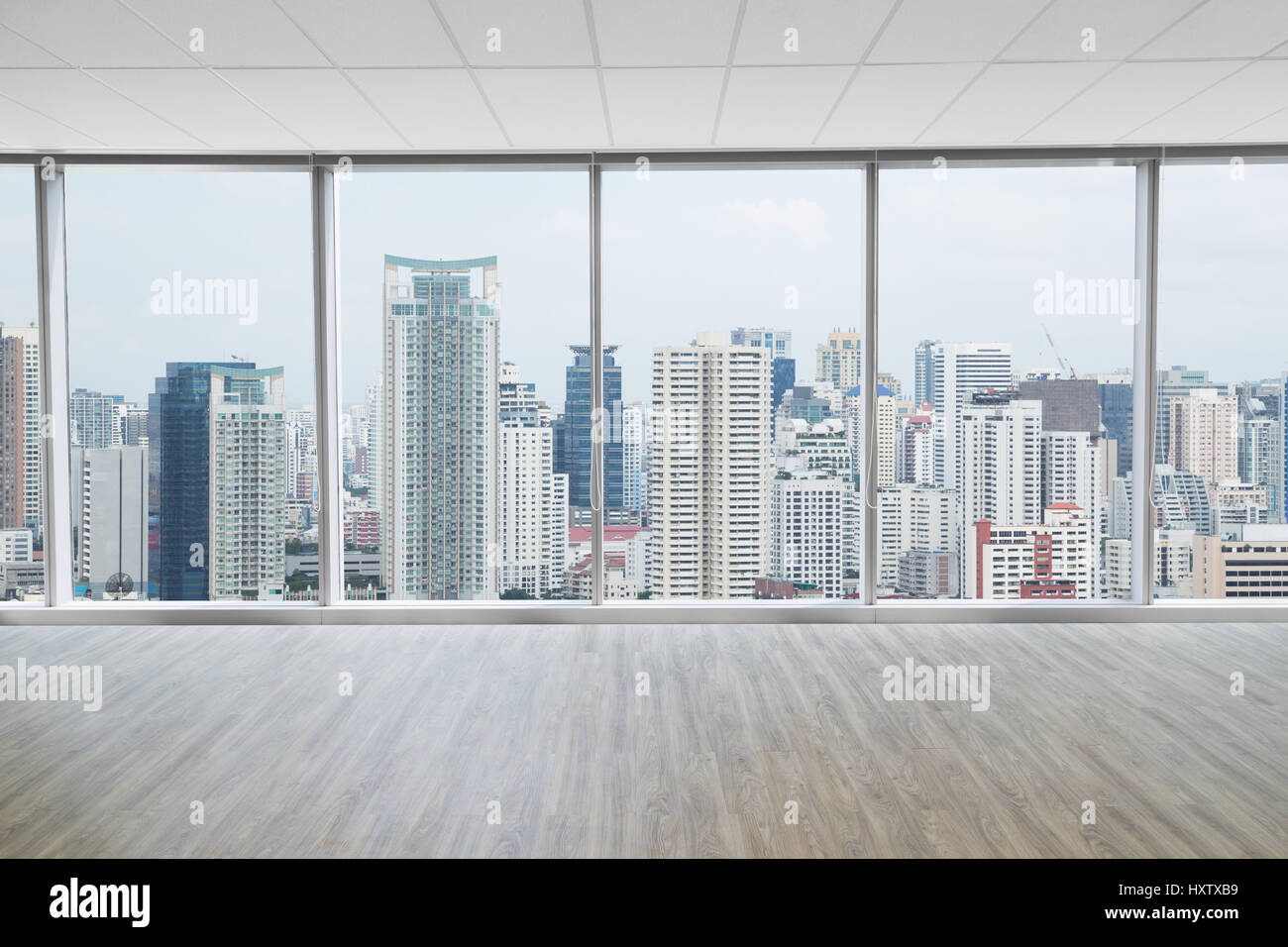 Interior space of modern empty office with city view background interior space of modern empty office with city view background voltagebd Images