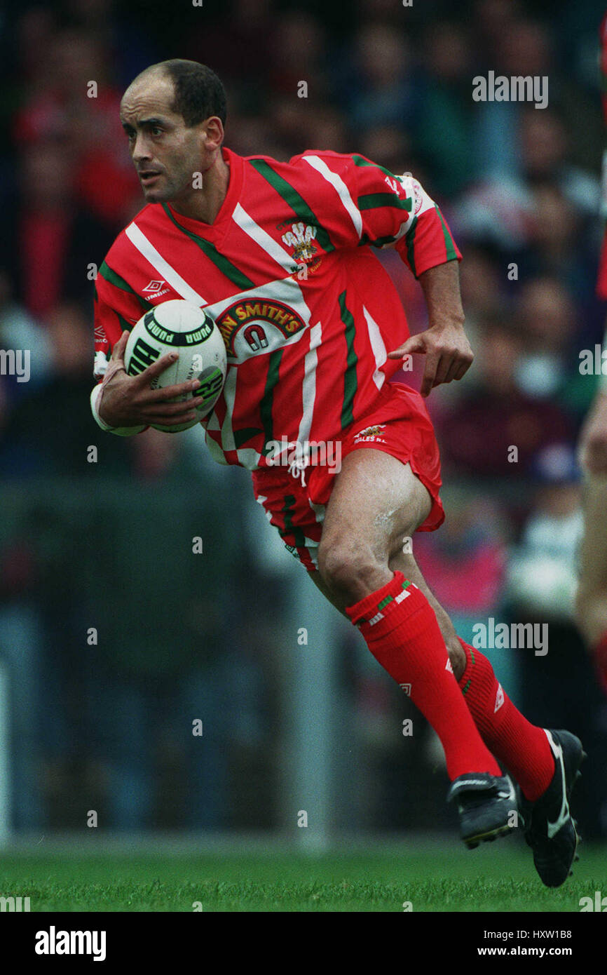 PHIL FORD WALES & SALFORD RLFC 09 October 1993 Stock