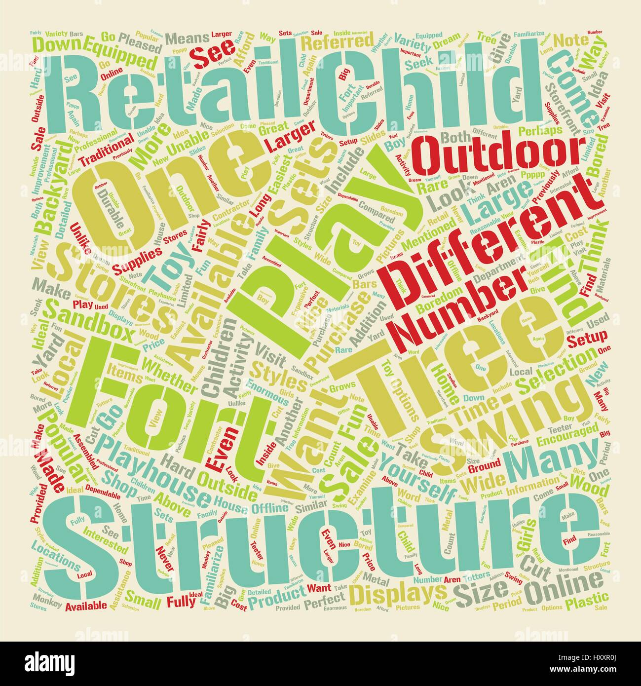 backyard play structures for children 1 text background wordcloud
