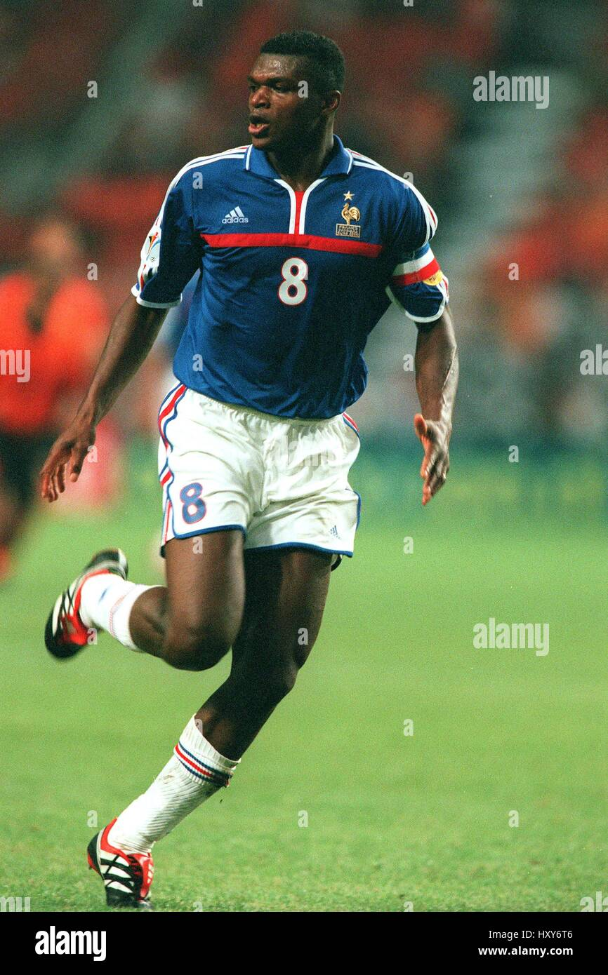 MARCEL DESAILLY FRANCE & CHELSEA FC 21 June 2000 Stock