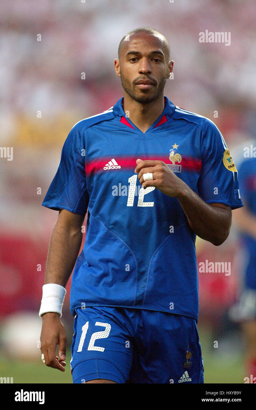 THIERRY HENRY FRANCE & ARSENAL FC DR MAGALHAES PESSOA STADIUM