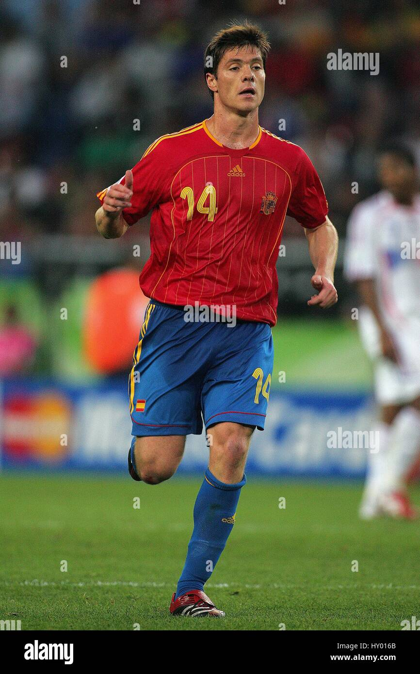 XABI ALONSO SPAIN & LIVERPOOL FC HANNOVER GERMANY 27 June 2006