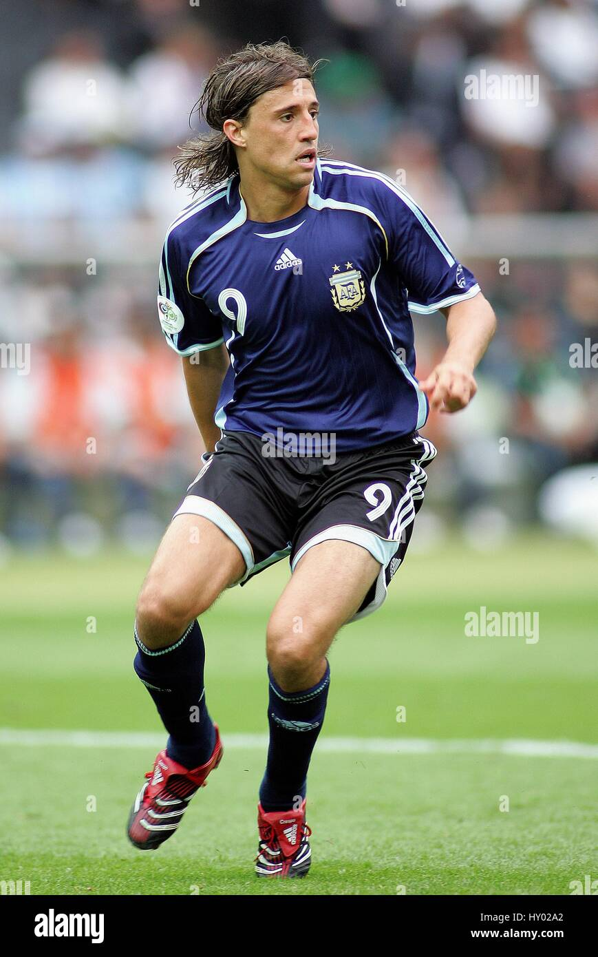 HERNAN CRESPO ARGENTINA & CHELSEA FC WORLD CUP BERLIN GERMANY 30