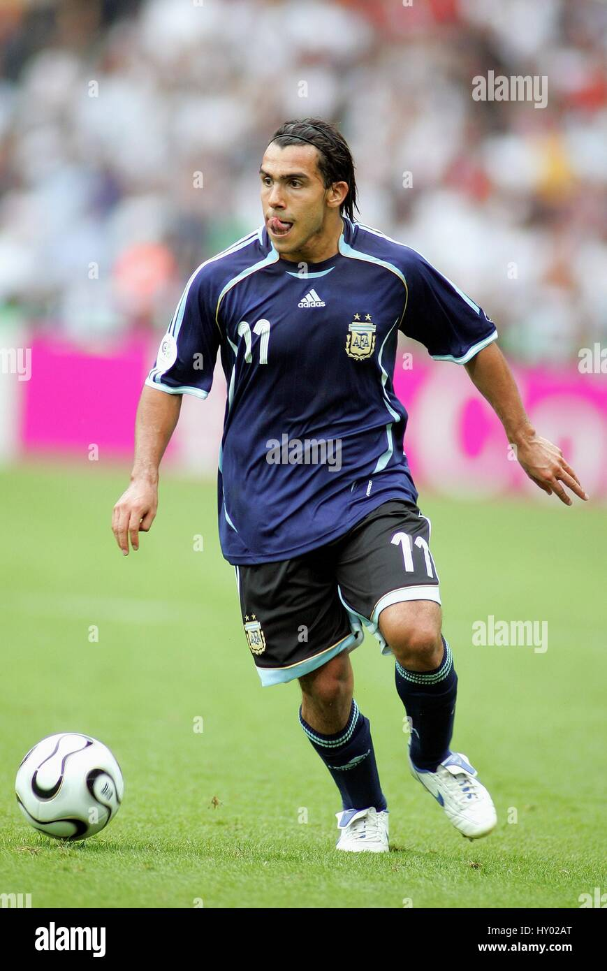 CARLOS TEVEZ ARGENTINA & CORINTHIANS WORLD CUP BERLIN GERMANY 30