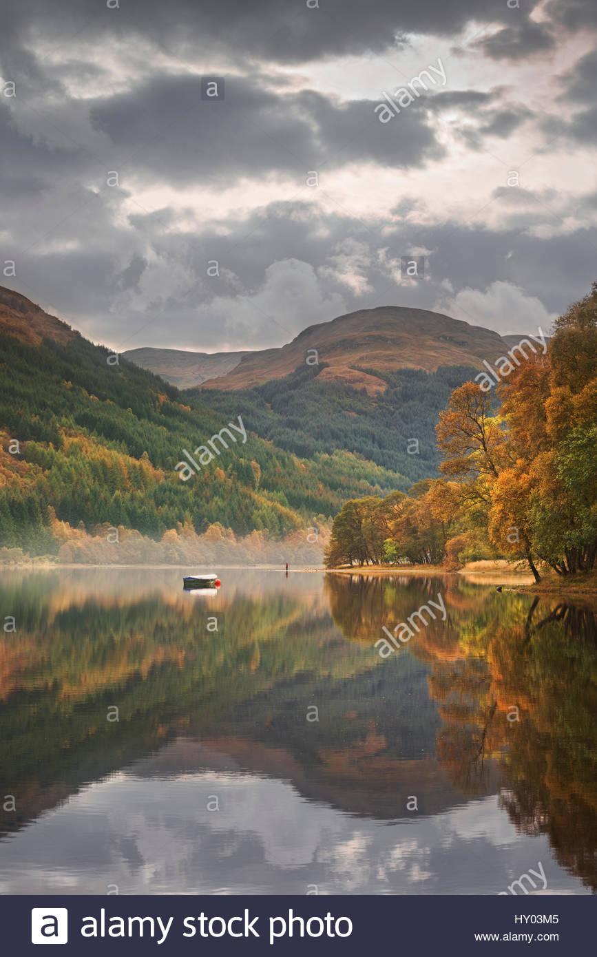 Loch Voil, Near Balquhidder, Loch Lomond And The Trossachs National Park,  Scotland