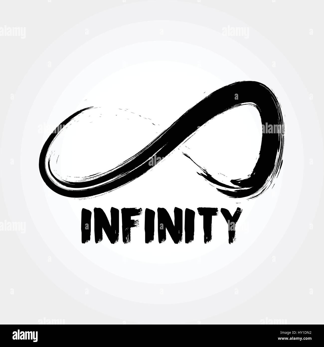 Grunge style infinity symbol stock vector art illustration grunge style infinity symbol biocorpaavc