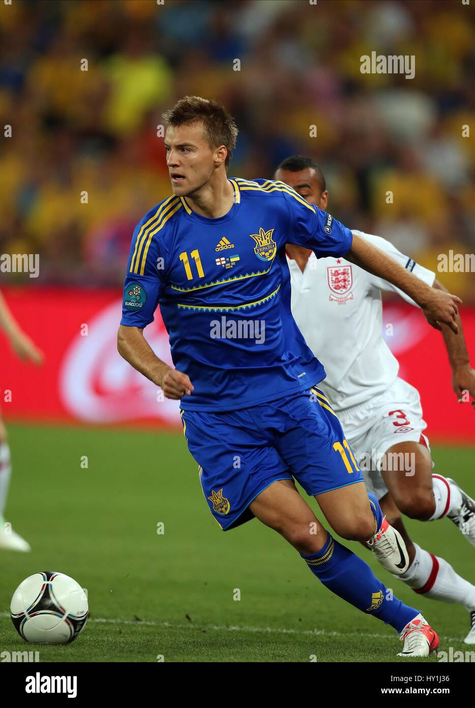 ANDRIY YARMOLENKO UKRAINE DYNAMO KYIV FC UKRAINE & DYNAMO KYIV FC