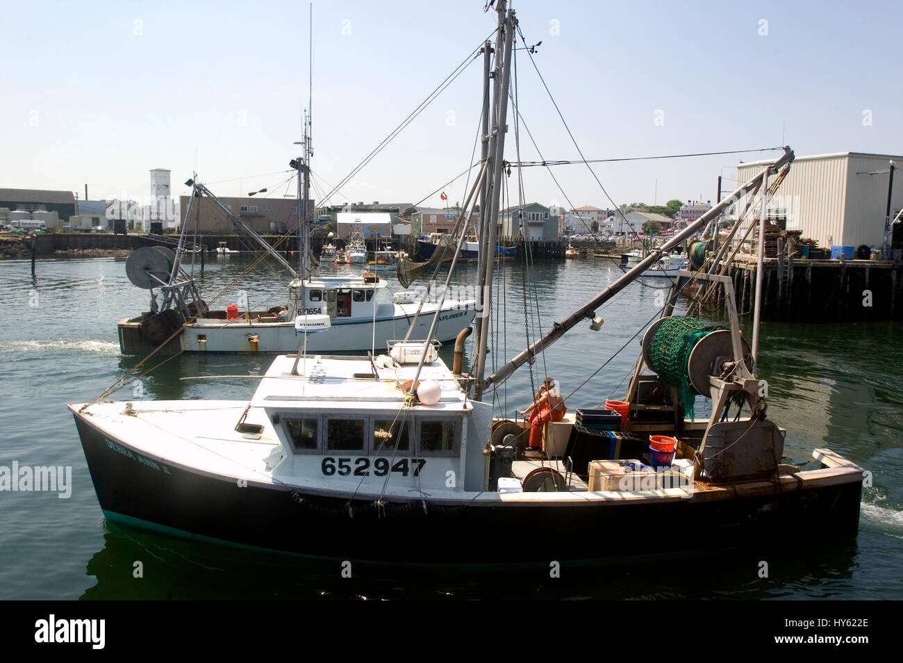 Commercial fishing boats in gloucester harbor for Mass commercial fishing